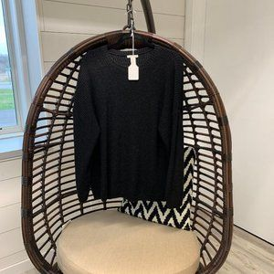 H&M Long Black Sweater